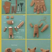 Van handschoen tot eekhoorn