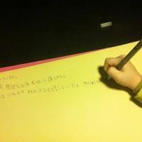 Wees lief, schrijf een brief