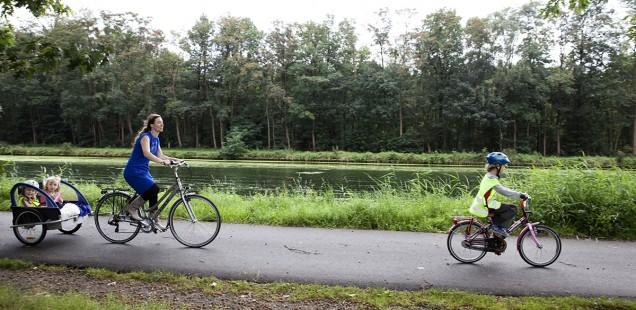 Op de pedalen