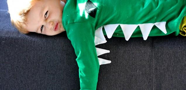 Maak zelf een krokodillenshirt