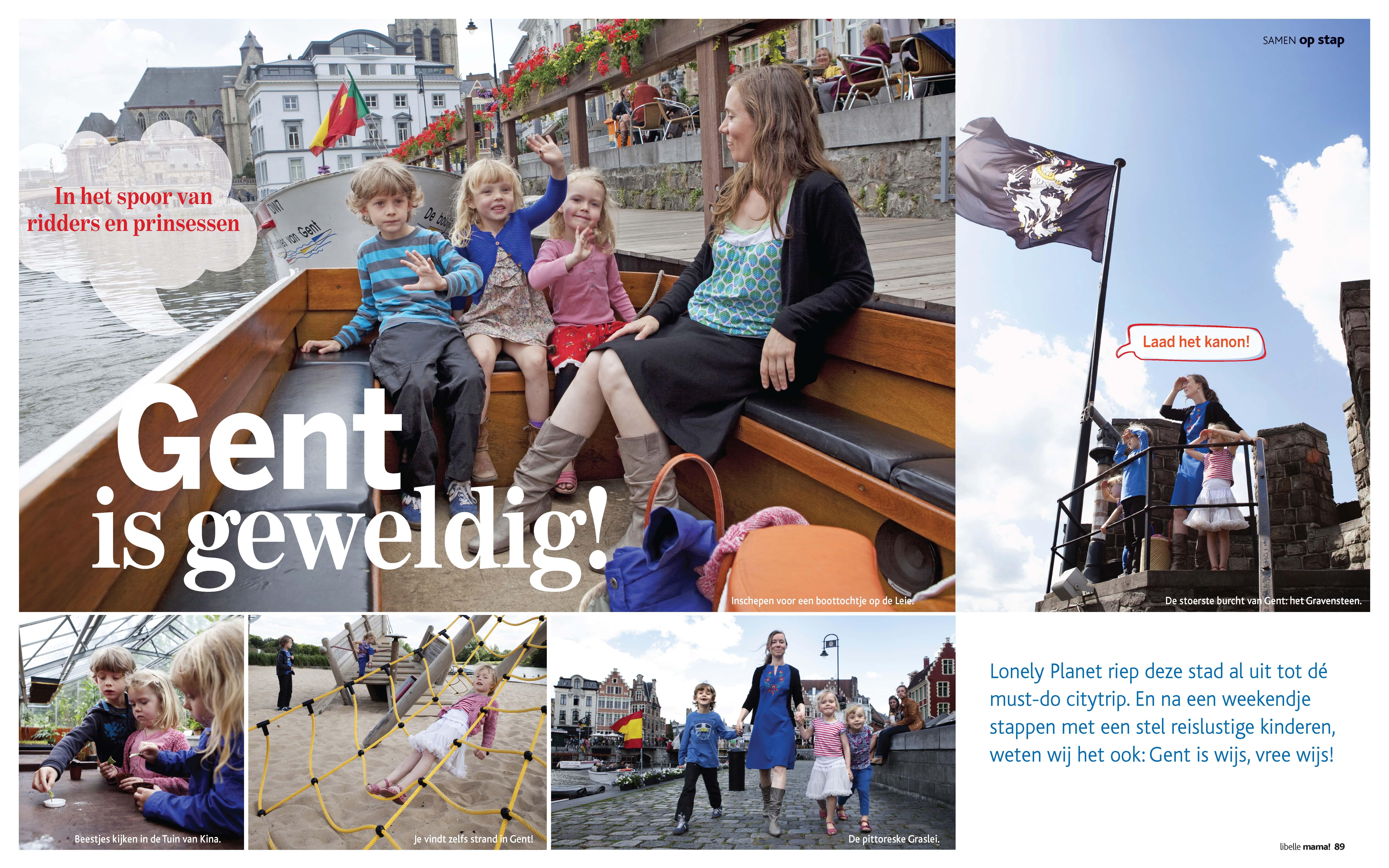 Gent is geweldig! – Libelle Mama