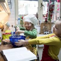 Pannenkoeken bakken met Maria