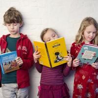 Boekenzoekers in actie