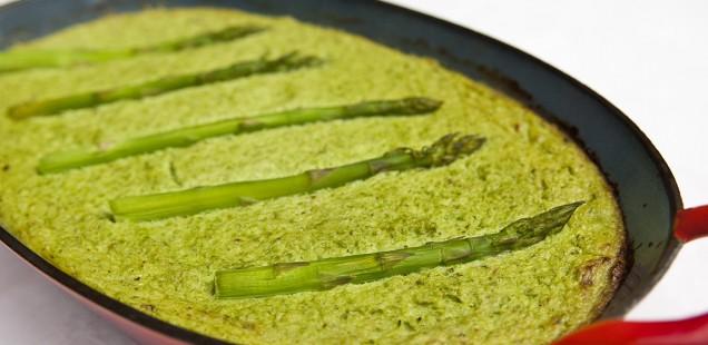 Patina van asperges